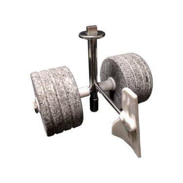 Spare part and accessories for Melanger - Cylindrical roller stone assembly